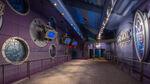 Stitch's Great Escape first pre-show room