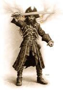 Blackbeard McShane Potc Ost Concept Art II