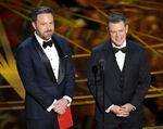 Matt Damon Ben Affleck 89th Acadamy Awards