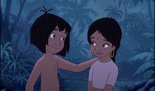Mowgli and Shanti are best friends.jpg