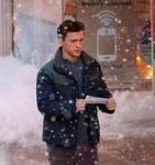 Peter Parker in Snow (SM3 BTS)