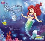 The Little Mermaid 25th Anniversary 2014 Calendar