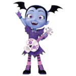 Vampirina With Guitar