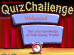 Walt Disney World Quiz Challenge