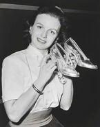 Ilene Woods with shoes