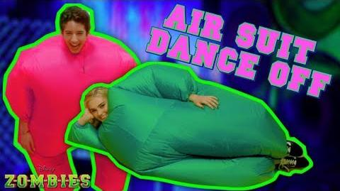 Air Suit Dance Off Challenge 💃🏽 ZOMBIES Disney Channel