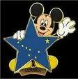 Alaska Mickey Pin