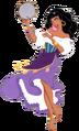 Esmeralda transparent
