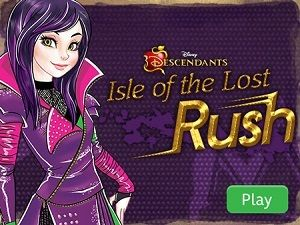Descendants: Isle of the Lost Rush