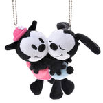Japanese Oswald and Ortensia RELAX FLAVOR key chain plushies