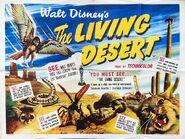 Living desert uk poster original