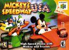 Mickey's Speedway USA - American Box Art
