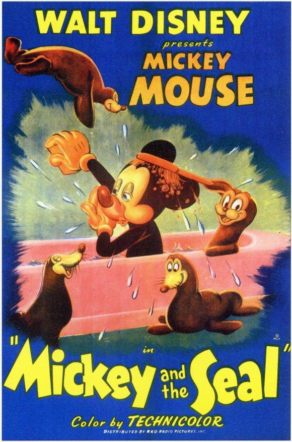 Mickey e a Foca