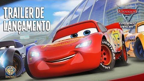 CARROS 3 CORRENDO PARA VENCER - Trailer de Lançamento (Dublado)