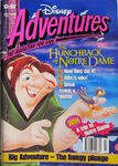 Disney Adventures Magazine australian cover September 1996 Hunchback Notre Dame Quasimodo