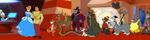 HoM - Character Line panorama