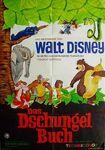 Jungle book german poster original