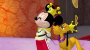 Prince Mickey and Prince Pluto - Minnierella