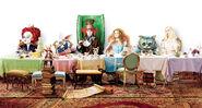 Alice in Wonderland - Table