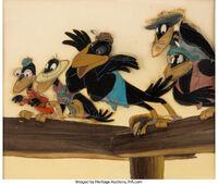 Dandy Crow pin6