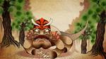 Komodo Dragon in Armor