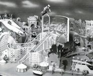 Roller Coaster Rabbit attraction model