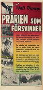Vanishing prairie swedish poster