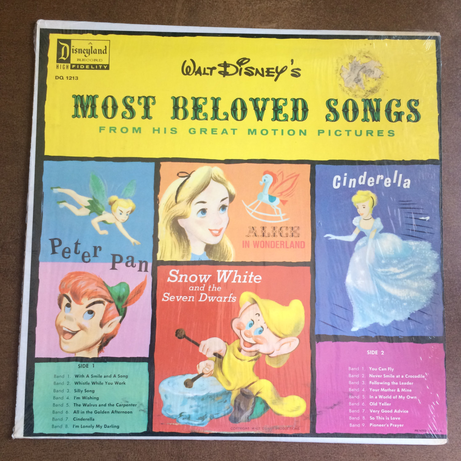 Walt Disney's Most Beloved Songs From His Great Motion Pictures