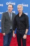 Chris Sanders & Kirk DeMicco Croods premeire