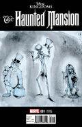 Disney Kingdoms Haunted Mansion Issue 1 Crosby Variant