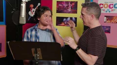 Jaime Camil & Anthony Gonzalez Voice Recording for Pixar's Coco