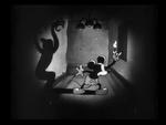 Mickey in a Dark Spooky Room