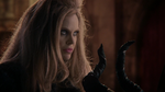Once Upon a Time - 4x14 - Enter the Dragon - Maleficent Holding Horns