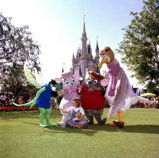 Rescuers Characters at Magic Kingdom