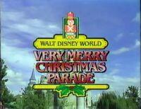 WDW ChristmasParade 1987