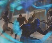 Avengers Infinity War Attack on the Statesman Concept Art