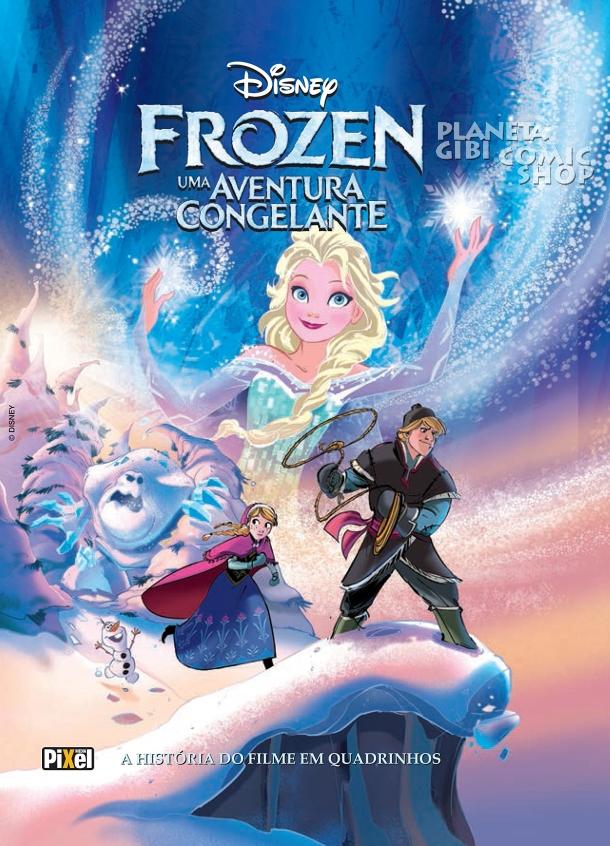 Frozen: Uma Aventura Congelante (quadrinhos)