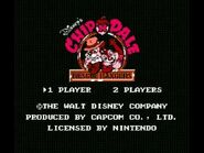 Chip 'n Dale Rescue Rangers (NES) Music - Title Theme-2