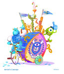 Pixar Play Parade Monsters University