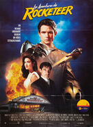 Rocketeer Spanish Poster