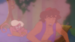 Aladdin Coughed