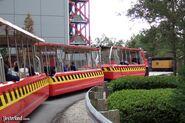 Studio Backlot Tour tram