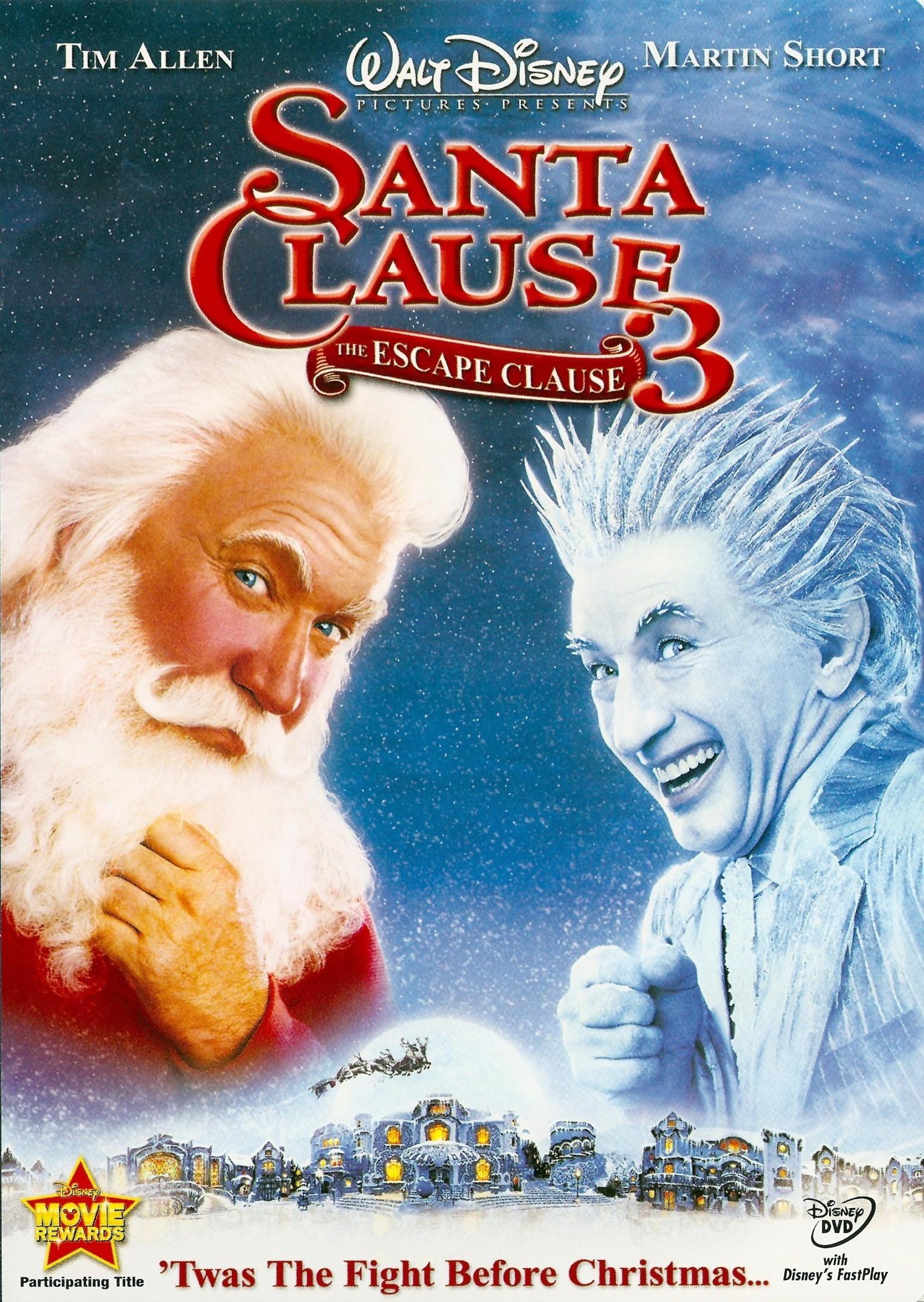The Santa Clause 3: The Escape Clause (video)
