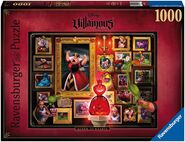 Villainous puzzle queen of hearts