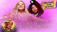 Audrey's Christmas Rewind ❄️ Behind the Scenes Descendants 3