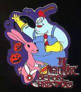 Behemoth and Bunny Pin