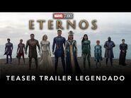 Eternos - Marvel Studios - Teaser Trailer Legendado