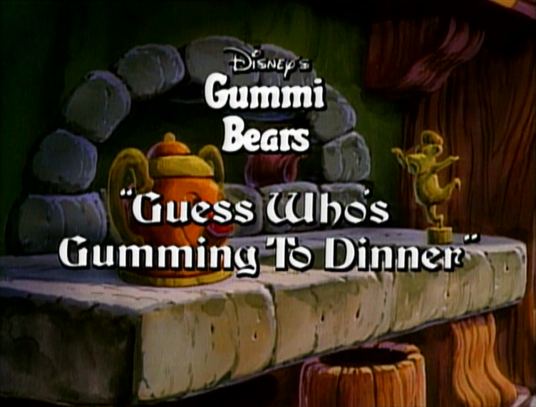 Guess Who's Gumming to Dinner?