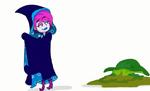 Hildy in a cloak 4