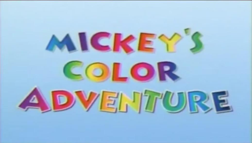Mickey's Color Adventure